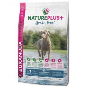 EUKANUBA Nature Plus+ Puppy Grain Free Salmon 10 kg