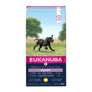 "Eukanuba Puppy & Junior Large Breed 15 kg + ""Flexi Zdarma"""