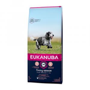 """EUKANUBA Senior Medium 15kg + """"Eukanuba Pelech"""""""