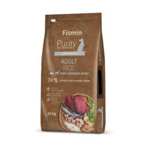 Fitmin dog Purity Rice Adult Fish&Venison 12 kg