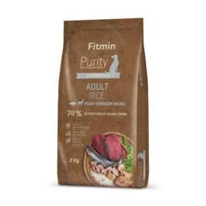 Fitmin dog Purity Rice Adult Fish&Venison 2 kg