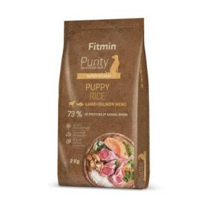 Fitmin dog Purity Rice Puppy Lamb&Salmon 2 kg