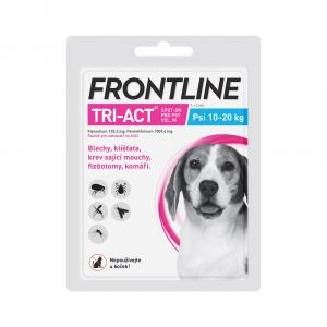 Frontline Tri-Act pro psy Spot-on L (20-40 kg) 1 pip