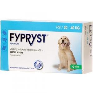 Fypryst Spot-on Dog L sol 1x2,68ml (20-40kg)