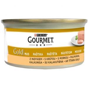 GOURMET Gold KK 24*85g Jemná paštika s krůtou
