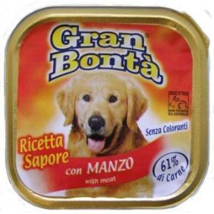 GRAN BONTA paštika s hovězím masem pro psy 150g