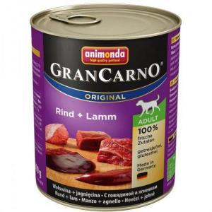 GRANCARNO Adult - hovězí, jehněčí 800g