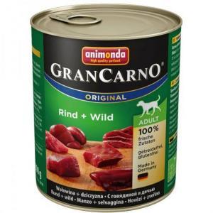 GRANCARNO Adult - hovězí, zvěřina 800g