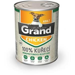 GRAND deluxe 100% Kuřecí Adult 820 g