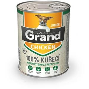 GRAND deluxe 100% Kuřecí Junior 180 g