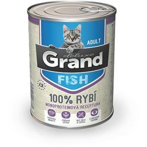GRAND deluxe 100% Rybí pro kočku Adult 400 g