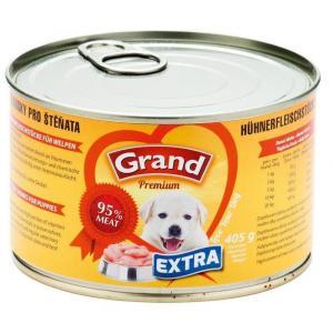 GRAND EXTRA - kuřecí kousky pro štěňata 405 g