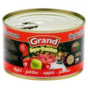 GRAND Hovězí-jablko - DOG 380g