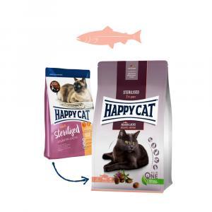 Happy Cat Sterilised Atlantik-Lachs / Losos 300 g