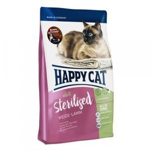 Happy Cat Sterilised Weide-Lamm / Jehnečí 300 g
