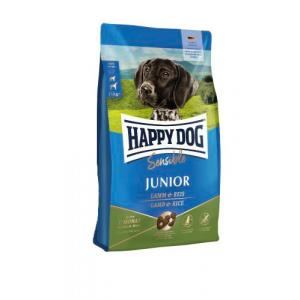 "Happy Dog Junior Lamb & Rice 10 kg + ""Happy Dog 800g"""