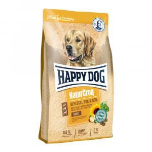 Happy Dog NaturCroq Geflügel PUR & REIS 15 kg