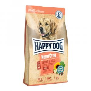Happy Dog NaturCroq LACHS & REIS 12 kg