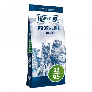 """Happy Dog Profi Line Krokette 23/9,5 Basic 20kg + """"Happy Dog 800g"""""""