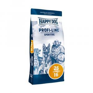 "Happy Dog Profi Line Krokette 26/16 Sportive 20kg + ""Happy Dog 800g"""