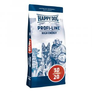 "Happy Dog Profi Line Krokette 30/20 High Energy 20kg + ""Happy Dog 800g"""