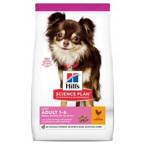 Hill's Canine Adult Light Small & Mini Chicken 6 kg