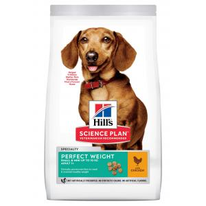 Hill's Canine Adult Perfect Weight Small & Mini Chicken 6 kg