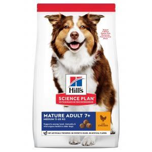 Hill's Canine Mature Adult 7+ Medium Chicken 14 kg