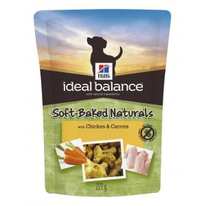 Hill`s™ Ideal Balance™ Balance Soft-Baked Naturals pamlsky s kuřetem a mrkví 227g