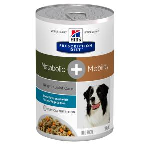 Hill's Prescription Diet Canine Stew Metabolic Plus Mobility with Tuna & Vegetables 354g