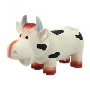 Hračka DOG FANTASY Latex kráva se zvukem 18 cm