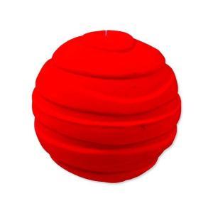 Hračka DOG FANTASY Latex míč pruhovaný se zvukem 7,5 cm