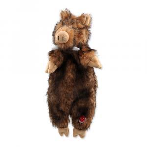 Hračka DOG FANTASY Skinneeez divočák plyšový 34 cm