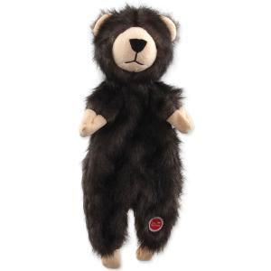 Hračka DOG FANTASY Skinneeez medvěd plyšový 34 cm
