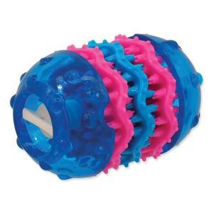 Hračka DOG FANTASY TPR Dental modrá 9,8 cm
