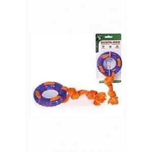 Hračka pes Denta Roo Záchranný kruh 22cm/9,5cm