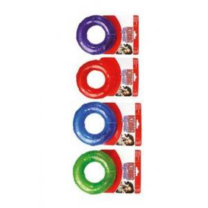 Hračka pes KONG Kroužek pískací L mix barev