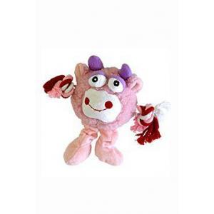 Hračka pes Trio Monster Friend růžový plyš 21cm