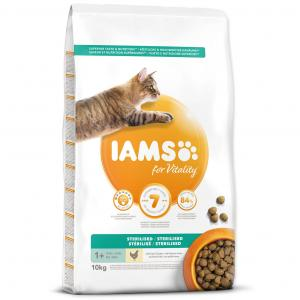 IAMS for Vitality Light in Fat Cat Food with Fresh Chicken 10kg