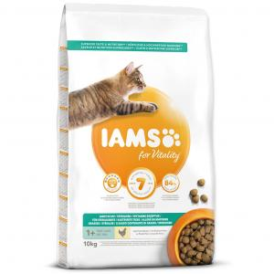 IAMS for Vitality Weight Control Cat Food with Fresh Chicken 10 kg