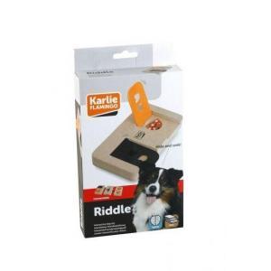 Interaktivní dřevěná hračka RIDDLE 22x12cm