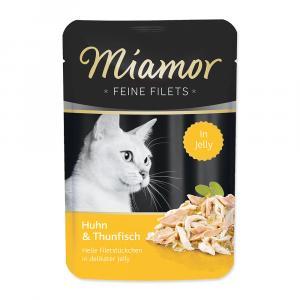 Kapsička Miamor Filet kuře + tuňák