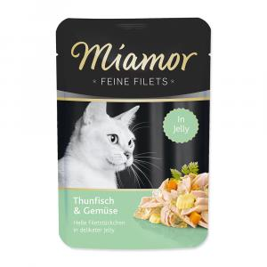 Kapsička Miamor Filet tuňák + zelenina