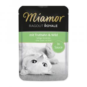 Kapsička MIAMOR Ragout Royale krocan + zvěřina ve šťávě 100g