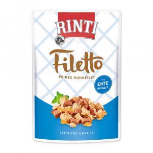 Kapsička RINTI Filetto kuře + kachna v želé 100g