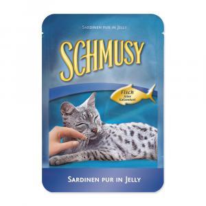 Kapsička SCHMUSY Fish sardinky v želé (100g)