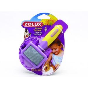 Zolux kartáč jemný s drátky pro fretky 1 ks 50 g