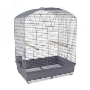Klec BIRD JEWEL Vanesa šedá 67x46x72cm
