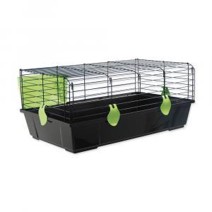 Klec SMALL ANIMAL Michal černá se zelenou výbavou