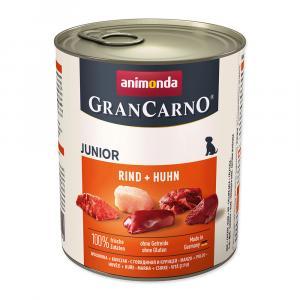 Konzerva ANIMONDA Gran Carno junior kuře, hovězí 800g
